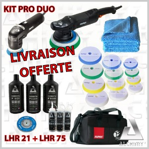 Kit PRO - RUPES DUO (2 machines / 26 articles)