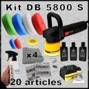 Kit Polisseuse DB 5800 S - 20 articles