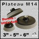 Plateau / Backing Plate M14 Ultra Souple
