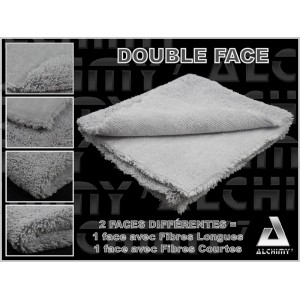 Pack 5 microfibres DOUBLE FACE
